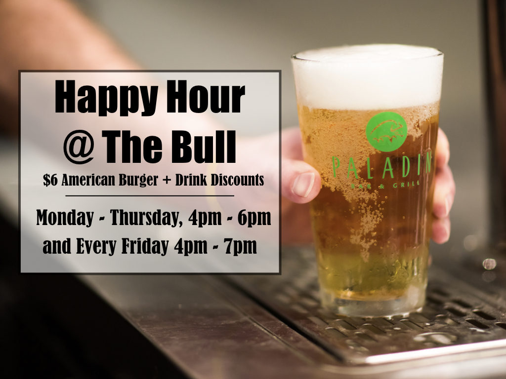 Happy Hour @ The Bull
